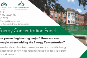 Energy Concentration Panel flyer